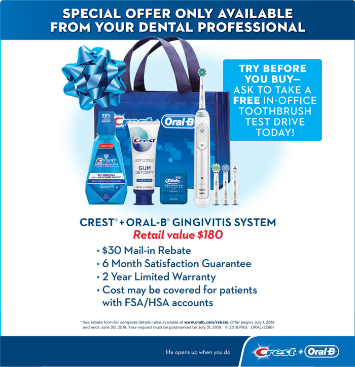 Oral B Special Offer